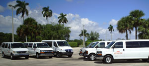 Clean and Modern Vans and Limos